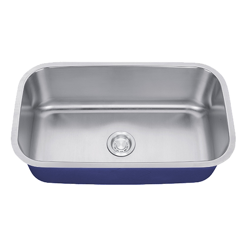 "Dakota Signature Series 32"" x 18"" Standard Radius Undermount 16 Gauge Stainless Steel Sink"