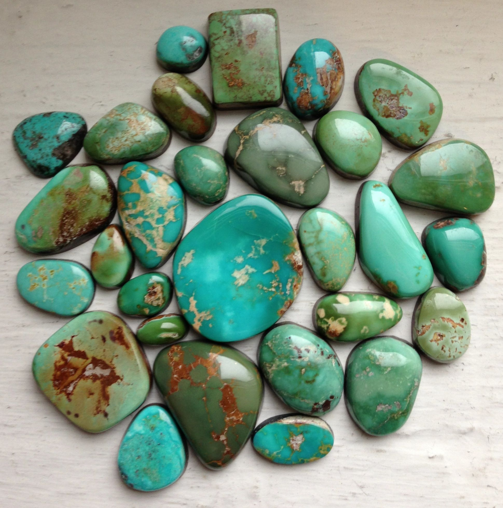 King Manassa Turquoise stone