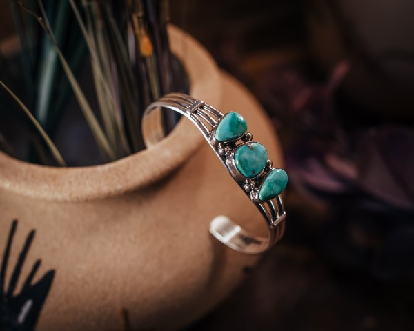 Emerald Valley Turquoise Cuff