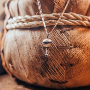 Sterling Silver Bell Pendant