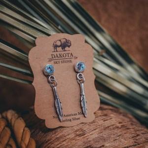 Sleeping Beauty Earrings