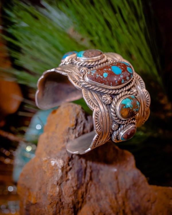 Bisbee Turquoise Cuff