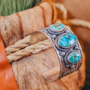 Turquoise Mountain Cuff