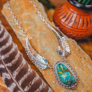 Sonoran Feather Necklace