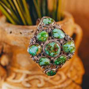 Sonoran Turquoise Cuff