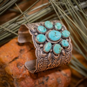 Sierra Nevada Turquoise Cuff