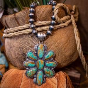 Boulder Turquoise Necklace