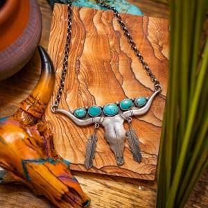 Royston Longhorn Necklace