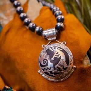 Sterling Silver Hopi Necklace