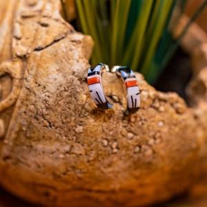 Zuni Hoop Earrings