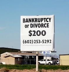 Cheap divorce (Credit: Kevin Dooley)