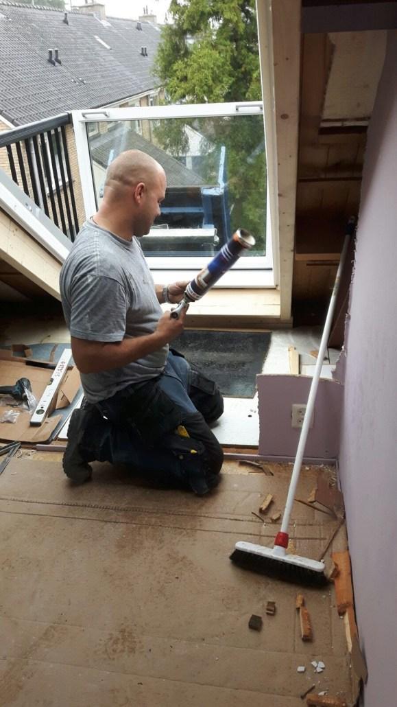 VELUX CABRIO® balkonvenster constructie