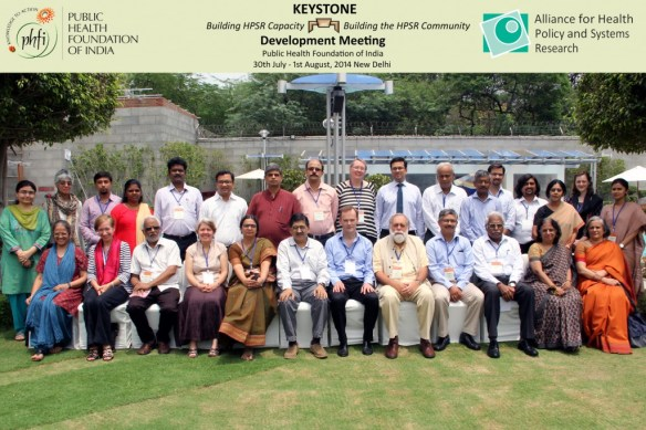 Participants of the KEYSTONE development meeting where the course curriculum and approach was finalised