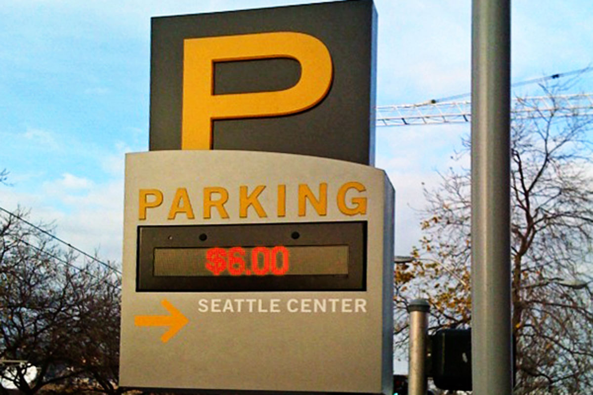 Seattle Center Parking