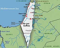 Peta Palestina