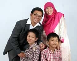 Warsito dan Keluarga