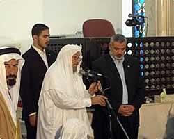 Ismail Haniyah dan DR. Yusuf Al-Qaradhawi