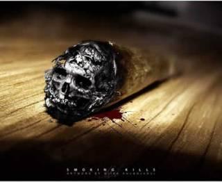 Ilustrasi - Rokok dapat membunuh (inet/Miika Ahvenjarvi)