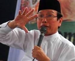 Rais Syuriah Pengurus Besar Nahdlatul Ulama (PBNU) KH Masdar Farid Mas'udi. (ANTARA/Rezza Estili)