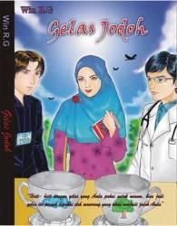 "Cover buku ""Gelas Jodoh""."