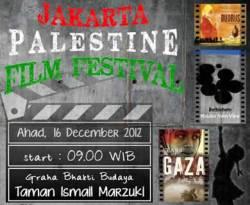 Poster Jakarta Palestine Film Festival.