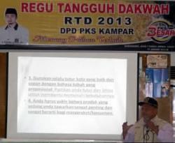 DPD PKS Kampar Bentuk Regu Tangguh Dakwah, Ahad (13/1) di Bangkinang. (Dok. DPD PKS Kampar)