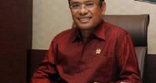 Sekretaris Fraksi Partai Hati Nurani Rakyat (Hanura) Saleh Husein. (sorotnews.com / Bowo Santoso)