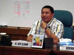 Wakil Ketua Komisi E DPRD DKI, Igo Ilham. (beritajakarta.com)