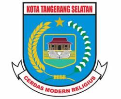Lambang kota Tangerang Selatan (Tangsel). (inet)