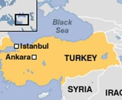 Ilustrasi - Peta Turki. (inet)