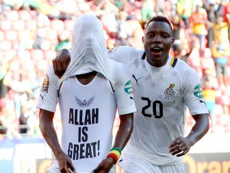 Wakaso: Allah is The Great (inet)