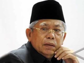 Ketua Koordinator Harian MUI, KH Ma'ruf Amin. (Antara)