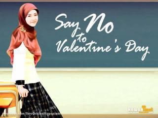 Ilustrasi - Say no to Valentine's Day. (IloveOriginalKawanimut)