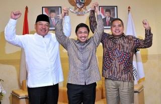 (ki-ka) Iskandar Hasan, Anis Matta, Ahmad Hafidz Tohir