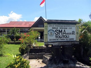 Gedung SMA Negeri 2 Tolitoli. (kemdikbud.go.id)