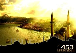 Ilustrasi Istanbul, Penaklukkan Konstantinopel oleh Muh. Al-Fatih (inet)