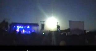 Cuplikan video ledakan meteor di Argentina. (YouTube / 24viralsvideos)