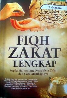 """Cover buku """"Fiqh Zakat Lengkap""""."""