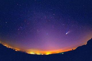 Ilustrasi, langit di petang (inet)
