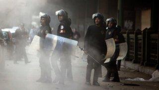 serangan polisi mesir