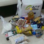 paketbantuan pengungsi suriah