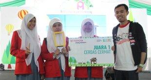 Saat Mendampingi Representasi SMK Kesehatan Fahd Islamic School, Bekasi Meraih Terbaik I