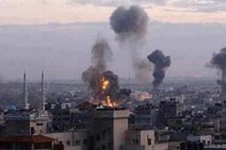 Israel Menyerang Gaza (foto: KNRP)
