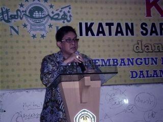 Ketua ISNU ISNU, Ali Maskur Musa (foto: nukudus.com)