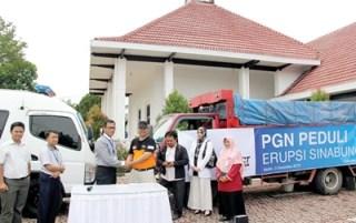 PGN untuk sinabung