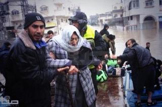 bantuan banjir Gaza