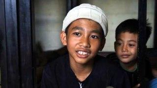 Ahsan, murid sekolah dasar di Ponpes Mus'ab bin Umair yang ingin menjadi hafiz Al-Qur'an dan mujahid. (Dok BWA)