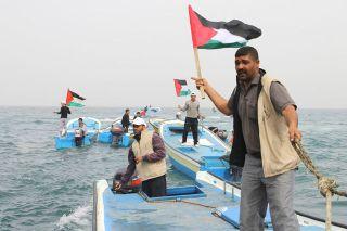 Kapal Nelayan Gaza (inet)