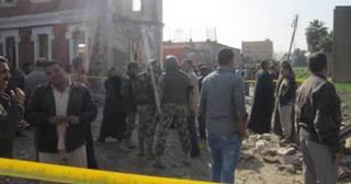 Gedung intelijen di Syarqiyah yang menurut militer telah menjadi objek ledakan bom (islammemo)
