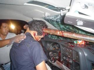 Kecelakaan yang mengenaskan dialami kepala intelijen Sinai Selatan